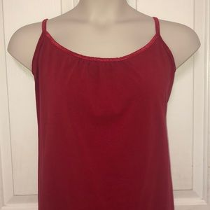 Red Tank Top Size 26/28